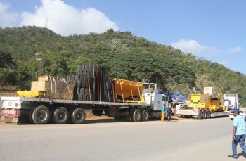 Part-of-the-diamond-mining-equipment-waiting-for-ZIMRA-clearance